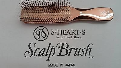 """Brosse à cheveux """"Scalp Brush"""" S.HEART.S made in Japan"""