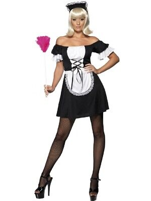 Costume Carnevale Donna cameriera French Mistress smiffys *09906