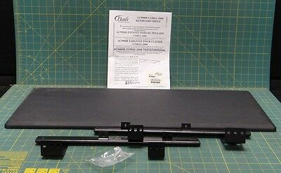 "Bush Universal Keyboard Shelf P/N AC99808, 30-1/4"" x 11-1/2"" Black"