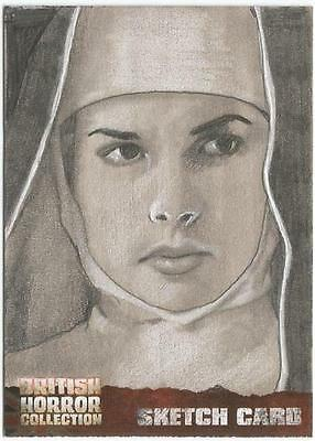 British Horror Collection Sketch Card created by Westley Smith [ A ]