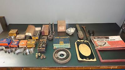 Wholesale Lot Vintage Auto Parts Store Ford Monmouth Thompson Moog Allied Crown