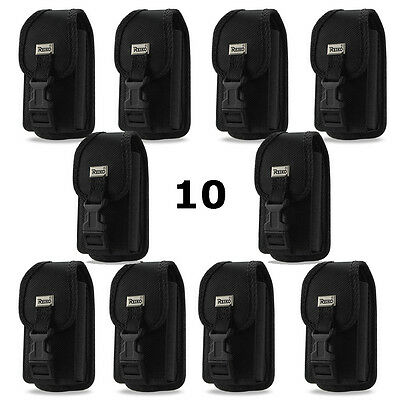Contractor Pack of 10 Rugged Heavy Duty Cases for Motorola i580.