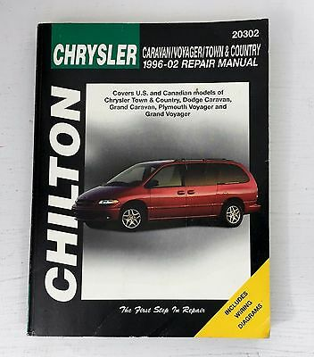 Chilton 20302 chrysler caravan voyager town country 1996 02 1996 02 chilton chrysler caravanvoyagertown country repair manual fandeluxe Image collections