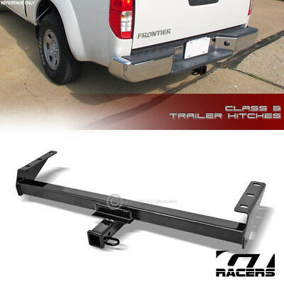 """Class 3 Trailer Hitch Receiver Rear Bumper Towing 2"""" For 2005-2015 2016 Frontier"""