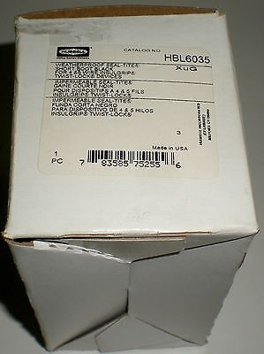 Electrical Hubbell Twist Lock Hbl6035 Rubber Weatherproof Boot 20 30A 4 & 5 Wire