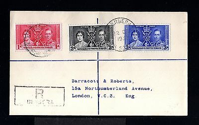 11829-SOMALILAND-REGISTERED COVER BERBERA to LONDON (england)1937.WWII.BRITISH.