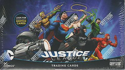 Justice League (NEW) Trading Card Box by Cryptozoic