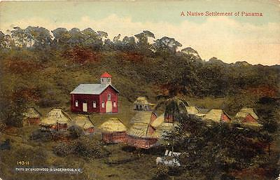 A Native Settlement Of Panama Lancaster South Carolina Postcard 1914