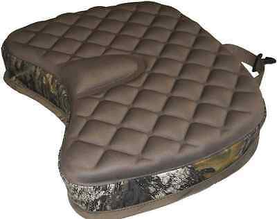 DELUXE Camo CUSHIONED SEAT Hunting Fishing Sports Thick Oak Tree Design Portable