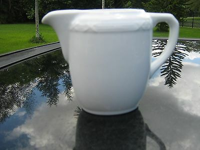 BAUSCHER Creamer  (4.5  inches tall), 1 piece,  Made in Germany white X DESIGN