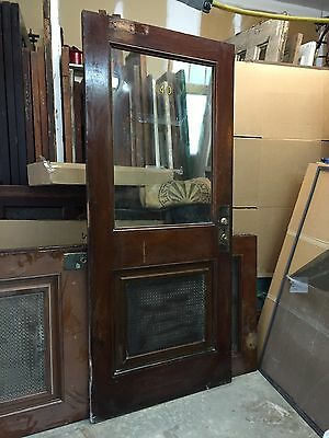 Antique Office Door