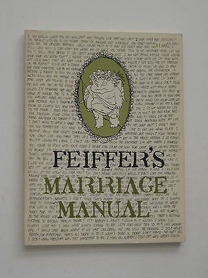Jules Feiffer's MARRIAGE MANUAL softcover