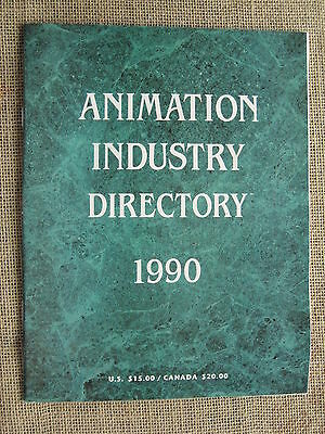 Animation Industry Directory 1990