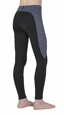 Kerrits Kid's Performance Tights (Small, Dusk Houndstooth)