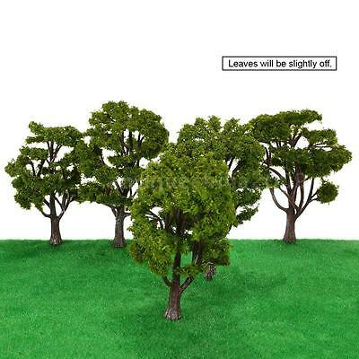 Perfect Handcrafted Tree Architectural Model Train Layout Wargame Landscape X5P9