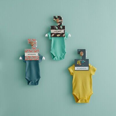 Baby Clothes Dividers. Arrange Baby's Wardrobe by Size. Sweet Dreams Design Pk 8