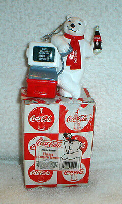 Coca Cola Coke Polar Bear Always A Computer Operator Christmas Ornament
