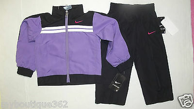 Nike Baby Girls 2 Piece Jacket & Pants 24 Months New With Tag