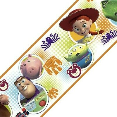 nEw Toy Story 3 Peel-n-Stick WALL BORDER ROLL - Buzz Lightyear Wall Accent Decor