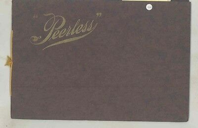 1904 Peerless Automobile Type 8 24HP Type 7 35HP Prestige Brochure ww1288