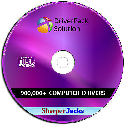 NEW & Fast Ship! DriverPack Solution Automatic Computer Driver Update - Disc