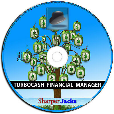 NEW 2016 Release! TurboCASH Accounting / Bookkeeping / Finances Software PC Disc