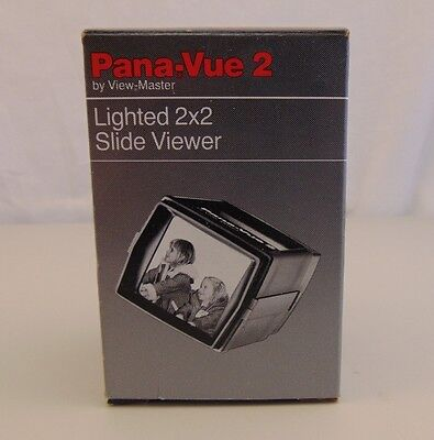 Pana-Vue 2 By View Master Lighted 2x2 Slide Viewer