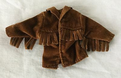 Bratz Size Clothing - Brown Suede Fringed Native American Style Jacket