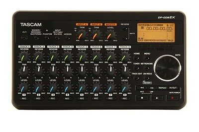 Tascam DP-008EX 8-track Digital Studio Portable SD Recorder w/Built-in Mics NEW