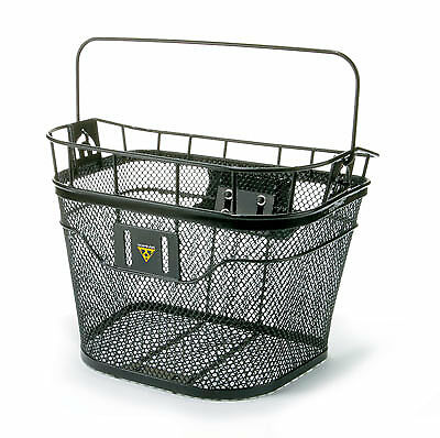 Topeak Front Handlebar Bike Basket With Fixer 3 Adaptor