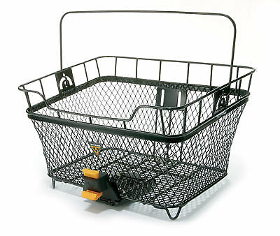 Topeak Mtx Bicycle Rear Basket With Fixer 6 Adaptor