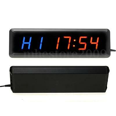 13.5inch Gym Fashion  Multifunction Fitness Timer Led Wall Clock Mute Home