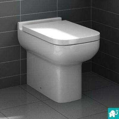 Back To Wall Toilet BTW Pan Cistern Short Projection WC Modern Bathroom CT642BTW