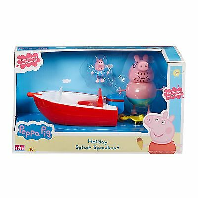 Peppa Pig Holiday Time Splash Speedboat