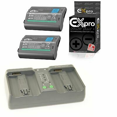 Ex-Pro� Nikon MH-26 EN-EL18 Sequential Dual Fast Charger with 2 Battery Nikon D4