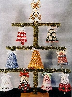 Hardanger Lace Bells #1 Pattern-Choice of 10 Different Patterns