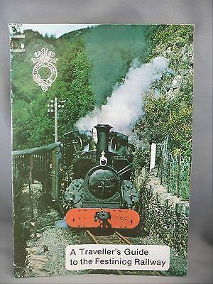 Traveller's Guide Festiniog Railway 1962/63 North Wales Map Colored Photos Book