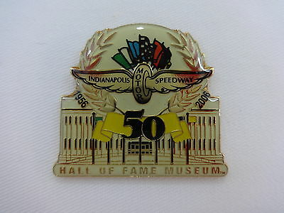 Indianapolis Motor Speedway 50th Anniversary Hall of Fame Museum Collector Pin