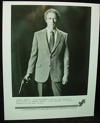 Vintage CTV Press Photo Clint Eastwood in SUDDEN IMPACT Dirty Harry