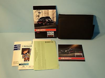 14 2014 Fiat Abarth 500 owners manual/user guide
