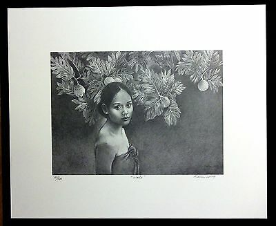 Kathy Long - Hawaiian Art - Limited Edition Print - WALO  72/500