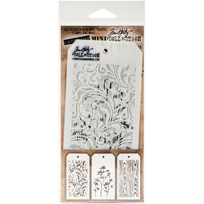 Stampers Anonymous StampersA Layering Stencil THoltz Mini #10
