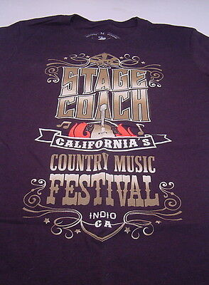 Country Music STAGE COACH CALIFORNIA'S COUNTRY MUSIC FESTIVAL (M) Womens T-shirt
