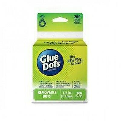 Glue Dots Removeable Glue Dots - per pack of 200 (GD08248)