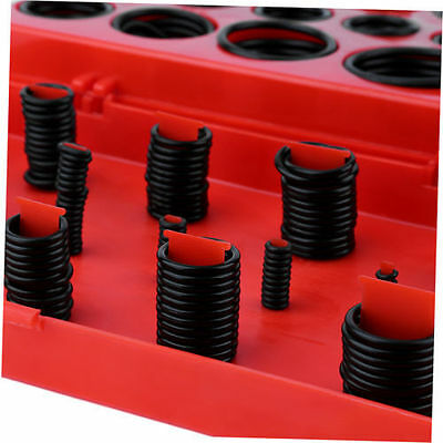 222/382/404/419 Pcs Rubber Series O Ring Seal Plumbing Garage Kit With Case KB