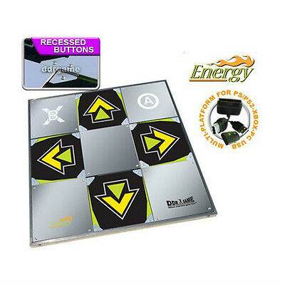 DDR Energy Metal Dance Pad for PS2 Wii Xbox PC/Mac