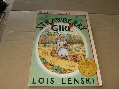 Strawberry Girl by Lois Lenski,Softcover Book,Good-Shape,1995.