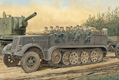 DRAGON 6545 1/35 Sd.Kfz.7 8t Half Track Early Production
