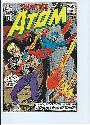 Showcase 35 - Vg/f 5.0 - 2Nd Silver Age Appearance Of The Atom (1961)