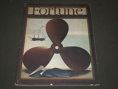 1940 October Fortune Magazine - Great Cover & Ads - F 107
